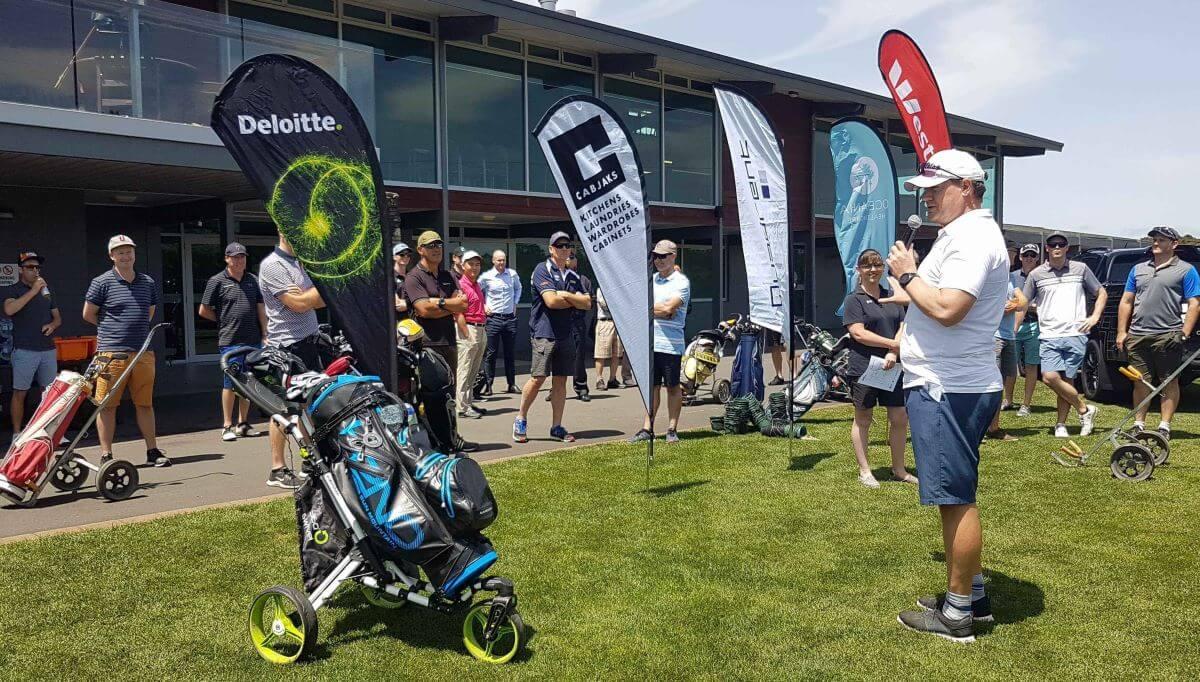 1 - Quadrent Kicks off the 2019 Charity Golf Day