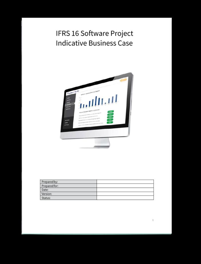 Quadrent Business Case Template
